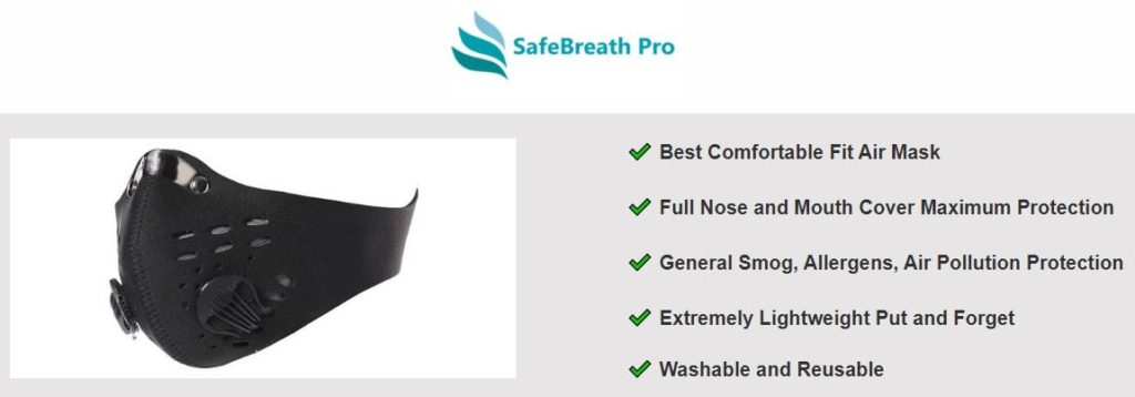 SafeBreath Pro Mask N95 Mask
